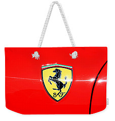 Ferrari Logo Weekender Tote Bag