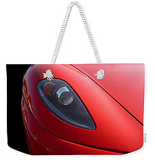 Weekender Tote Bag featuring the photograph Ferrari by Vicki Spindler