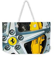 Ferrari Wheel 3 Weekender Tote Bag
