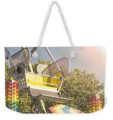 Ferris Wheel Bucket Weekender Tote Bag by Cindy Garber Iverson