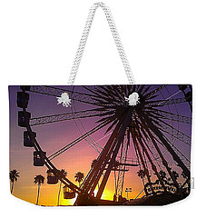 Weekender Tote Bag featuring the photograph Ferris Wheel by Chris Tarpening