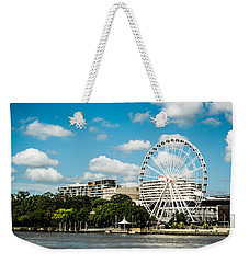 Ferris Wheel On The Brisbane River Weekender Tote Bag