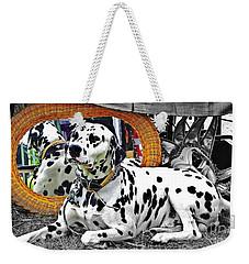 Festival Dog Weekender Tote Bag