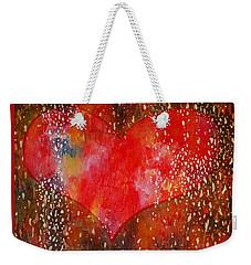 Festive Heart Weekender Tote Bag
