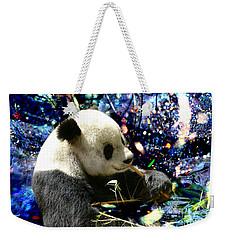 Festive Panda Weekender Tote Bag