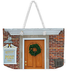 Adventure Suites Hotel Festive Post Office Weekender Tote Bag