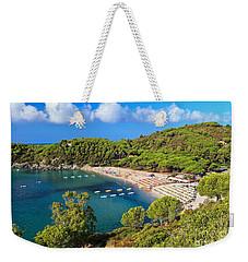 Fetovaia Beach - Elba Island Weekender Tote Bag