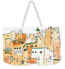 Fez Medina Roofline Weekender Tote Bag