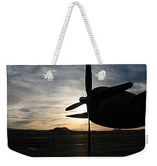 Weekender Tote Bag featuring the photograph Fi-fi Power by David S Reynolds