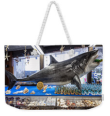 Stuckey's Jaws Weekender Tote Bag by Gary Warnimont