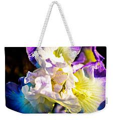 Fickle Iris  Weekender Tote Bag