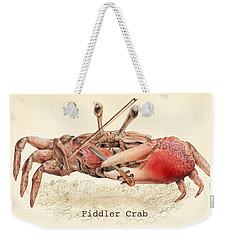 Fiddler Crab Weekender Tote Bag