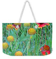Field Of Color Weekender Tote Bag by Jennifer Muller