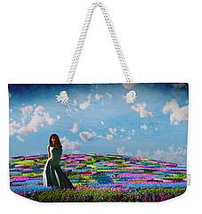Field Of Flowers... Weekender Tote Bag by Tim Fillingim