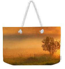 Field Of Gold Weekender Tote Bag