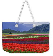 Field Of Tulips Weekender Tote Bag by Jordan Blackstone