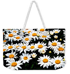Fields Of Daisies Weekender Tote Bag