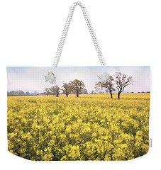 Fields Of Yellow Weekender Tote Bag