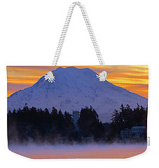 Fiery Dawn Weekender Tote Bag