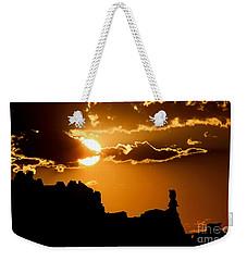 Fiery Desert Sky Weekender Tote Bag