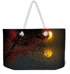 Fiery Fall... Weekender Tote Bag by Tim Fillingim