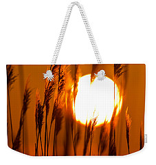 Fiery Grasses Weekender Tote Bag