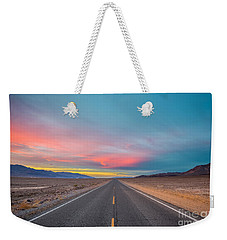 Fiery Road Though The Valley Of Death Weekender Tote Bag