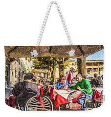 Fiesole Al Fresco Weekender Tote Bag by Liz Leyden