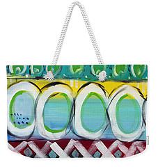 Fiesta - Colorful Painting Weekender Tote Bag