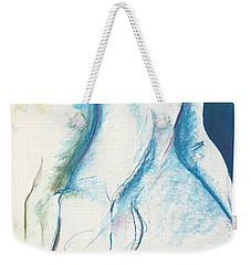 Figurative Abstract Weekender Tote Bag by Melinda Dare Benfield