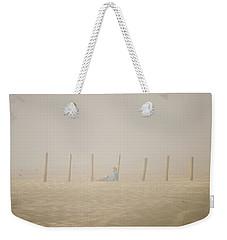 Figure In The Fog Weekender Tote Bag