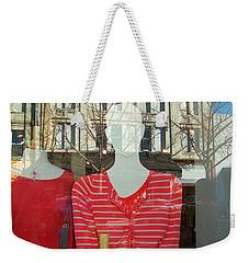 Figure In Window By Jan Marvin Weekender Tote Bag