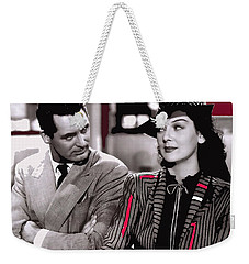 Film Homage Cary Grant Rosalind Russell Howard Hawks His Girl Friday 1940-2008 Weekender Tote Bag