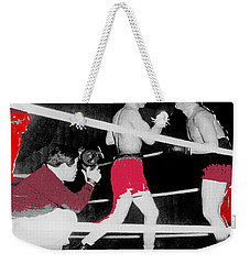 Film Noir Cinematographer James Wong Howe John Garfield Body And Soul 1947 Color Added 2013 Weekender Tote Bag
