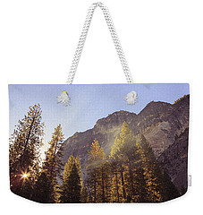 Morning Skies Of Yosemite Weekender Tote Bag