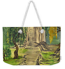 Finding Our Path Weekender Tote Bag