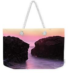 Fine Art Water And Rocks Weekender Tote Bag