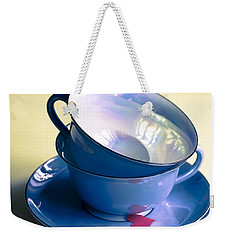 Fine China Weekender Tote Bag by Jan Bickerton