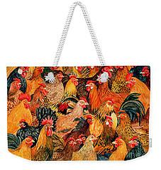 Fine Fowl Weekender Tote Bag by Ditz