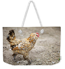 Weekender Tote Bag featuring the photograph Fine Lady by Erika Weber