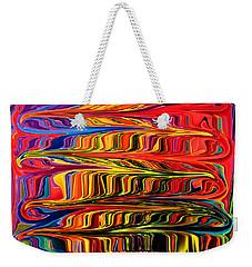 Fingerpaint Weekender Tote Bag