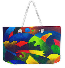 Fins Weekender Tote Bag by Sally Trace