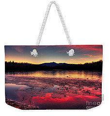 Fire And Ice At Price Weekender Tote Bag