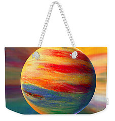 Fire And Ice Ball  Weekender Tote Bag