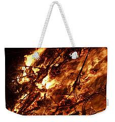 Fire Blaze Weekender Tote Bag