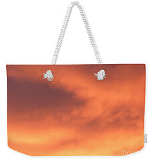 Fire Clouds Weekender Tote Bag