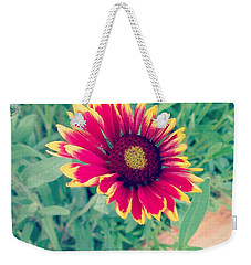 Fire Daisy Weekender Tote Bag by Thomasina Durkay