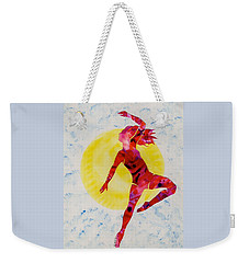 Fire Dancer Weekender Tote Bag by Mary Armstrong