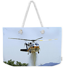 Fire Hawk Water Drop Weekender Tote Bag