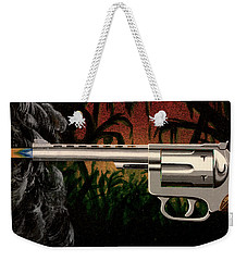 Fire In The Jungle Weekender Tote Bag by Jack Malloch